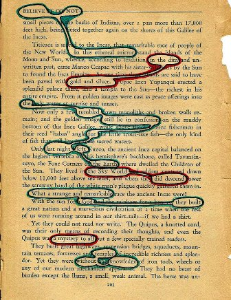 Johnny Found Poem Assignment Literature Text Images Music