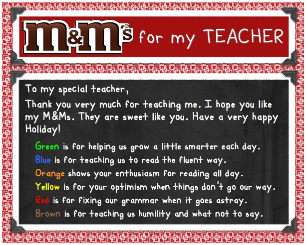 Teacher of the Year Appreciation: text, images, music, video